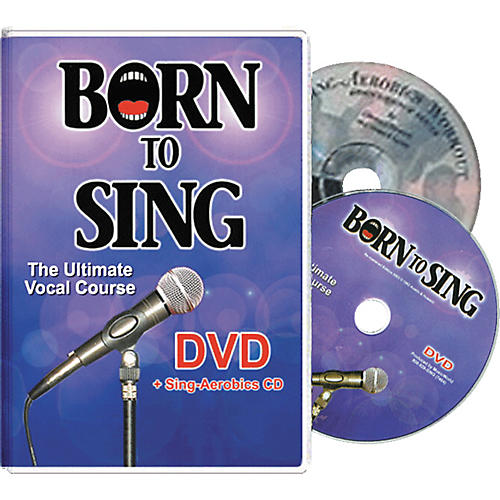 Born to Sing Ultimate Vocal Course (DVD + Sing Aerobics CD) thumbnail