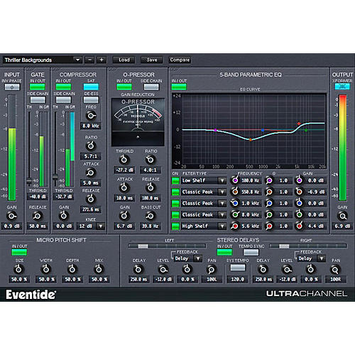 Eventide UltraChannel Native Plug-in Software Download thumbnail