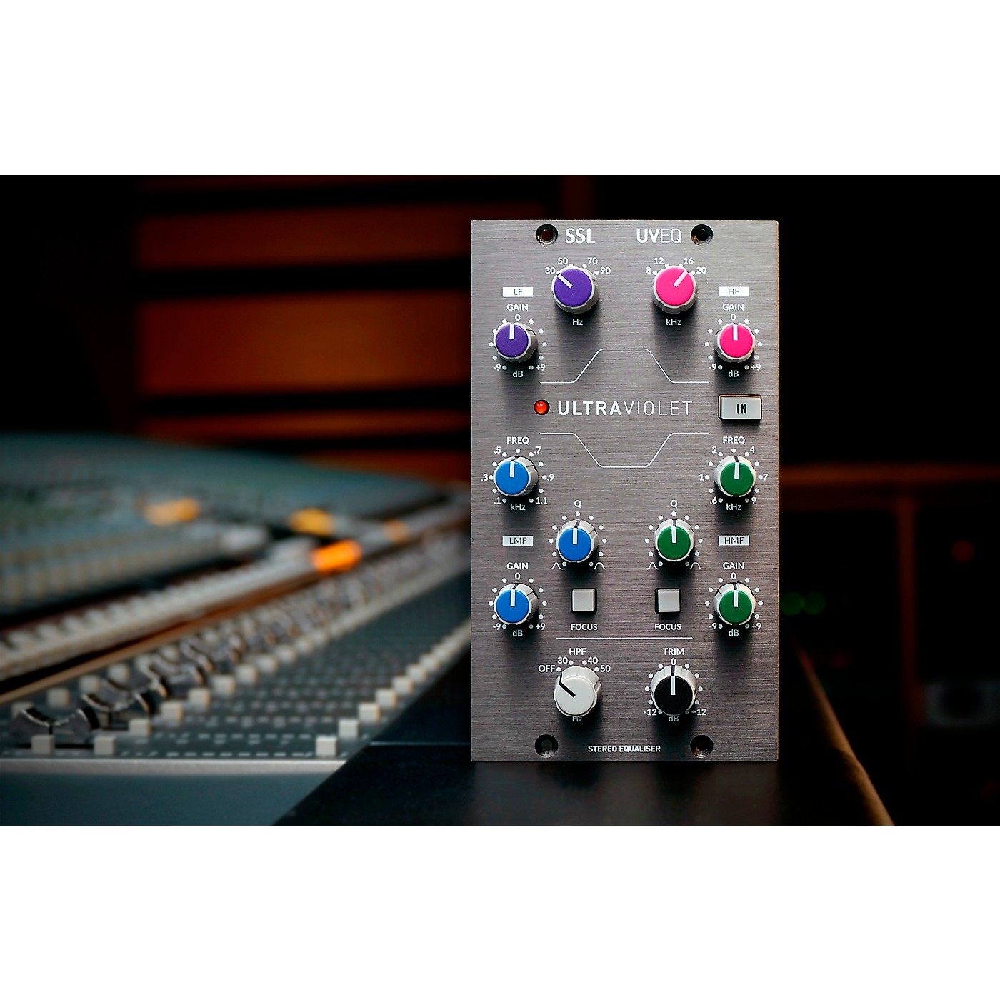 Solid State Logic UltraViolet EQ 500 Series Stereo EQ thumbnail