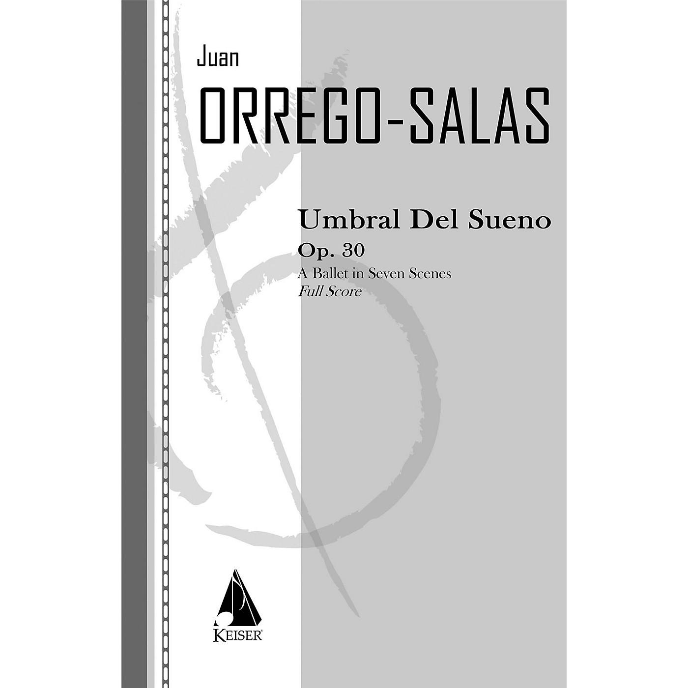 Lauren Keiser Music Publishing Umbral Del Sueno, Op. 30 LKM Music Series by Juan Orrego-Salas thumbnail