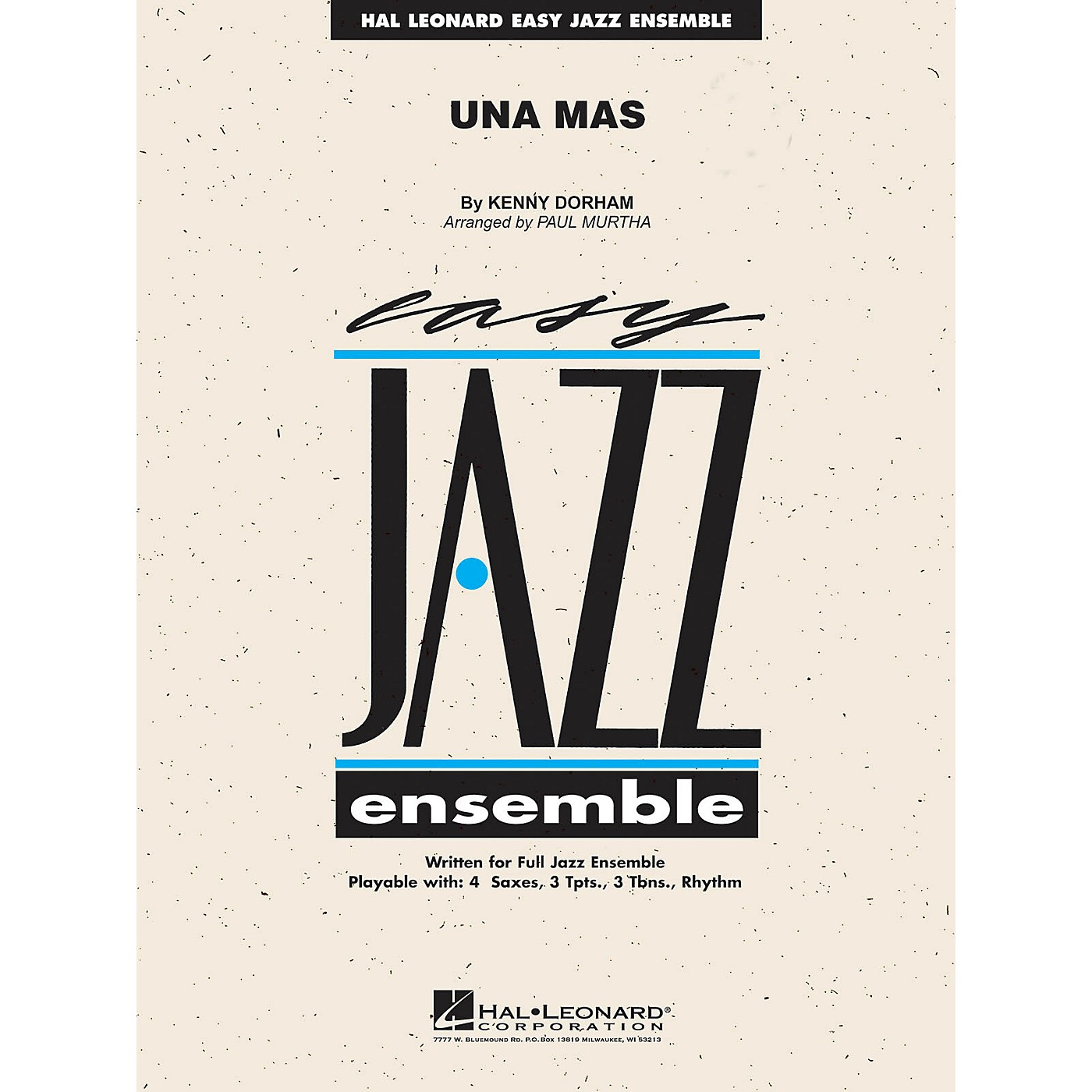 Hal Leonard Una Mas Jazz Band Level 2 Arranged by Paul Murtha thumbnail