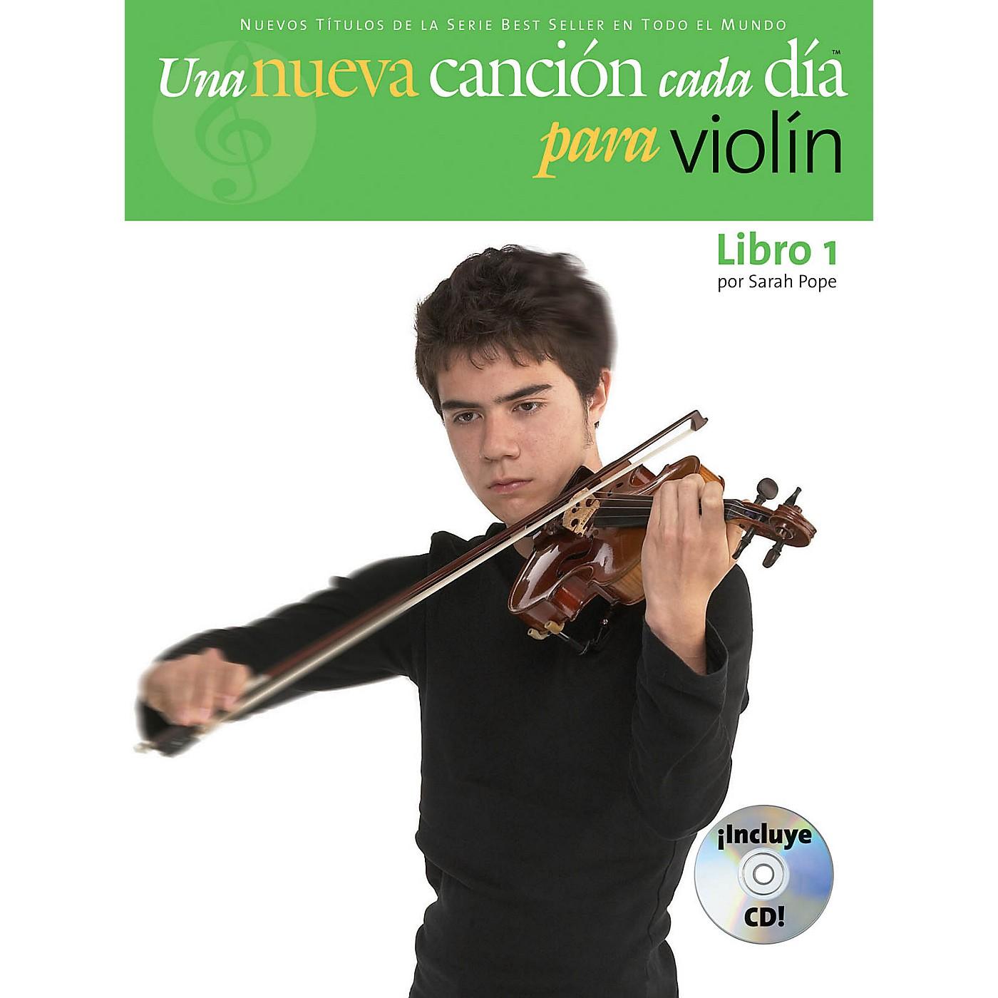 Music Sales Una Nueva Cancion Cada Dia Para Violin Music Sales America Series Softcover with CD Written by Sarah Pope thumbnail