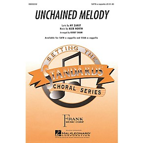 Hal Leonard Unchained Melody SSAA A Cappella Arranged by Kirby Shaw
