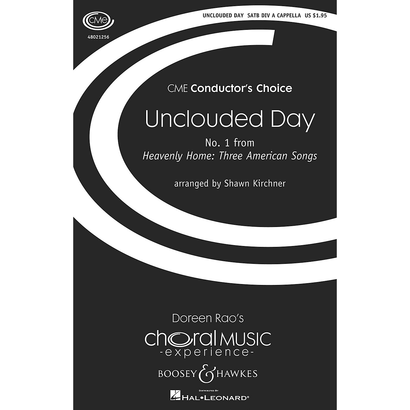 Boosey and Hawkes Unclouded Day (No. 1 from Heavenly Home: Three American Songs) SSAATTBB A Cappella by Shawn Kirchner thumbnail
