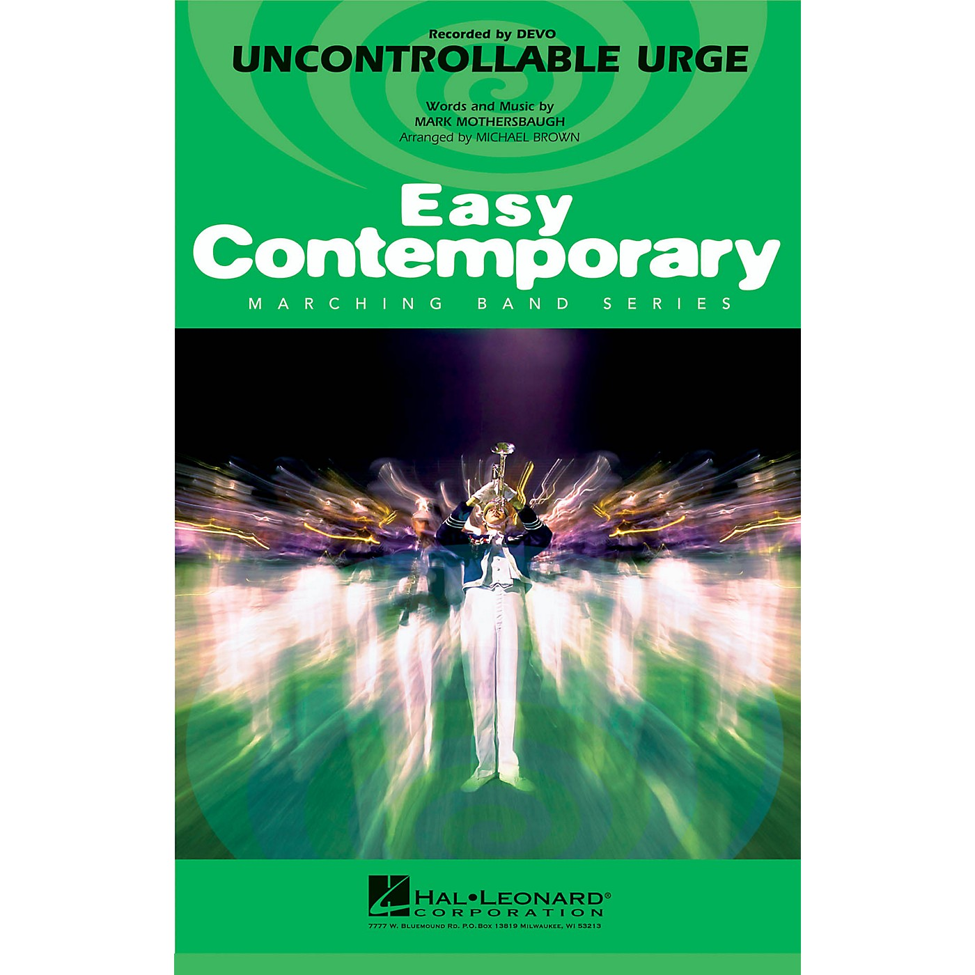 Hal Leonard Uncontrollable Urge Marching Band Level 2-3 by Devo Arranged by Michael Brown thumbnail