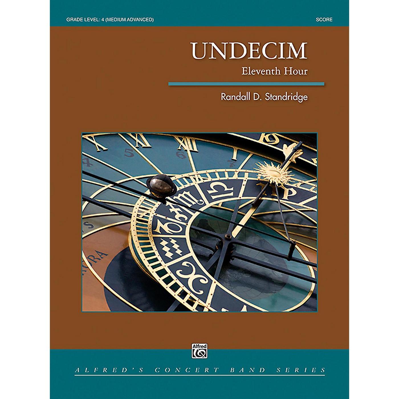 Alfred Undecim Concert Band Grade 4 (Medium Advanced) thumbnail