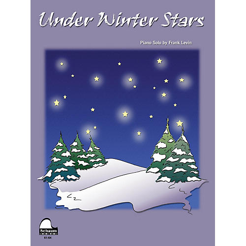 SCHAUM Under Winter Stars Educational Piano Series Softcover thumbnail