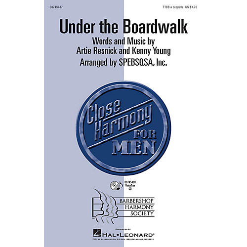 Hal Leonard Under the Boardwalk VoiceTrax CD by The Drifters thumbnail