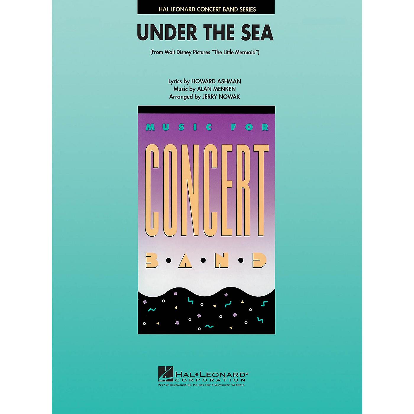 Hal Leonard Under the Sea Concert Band Level 4 Arranged by Jerry Nowak thumbnail