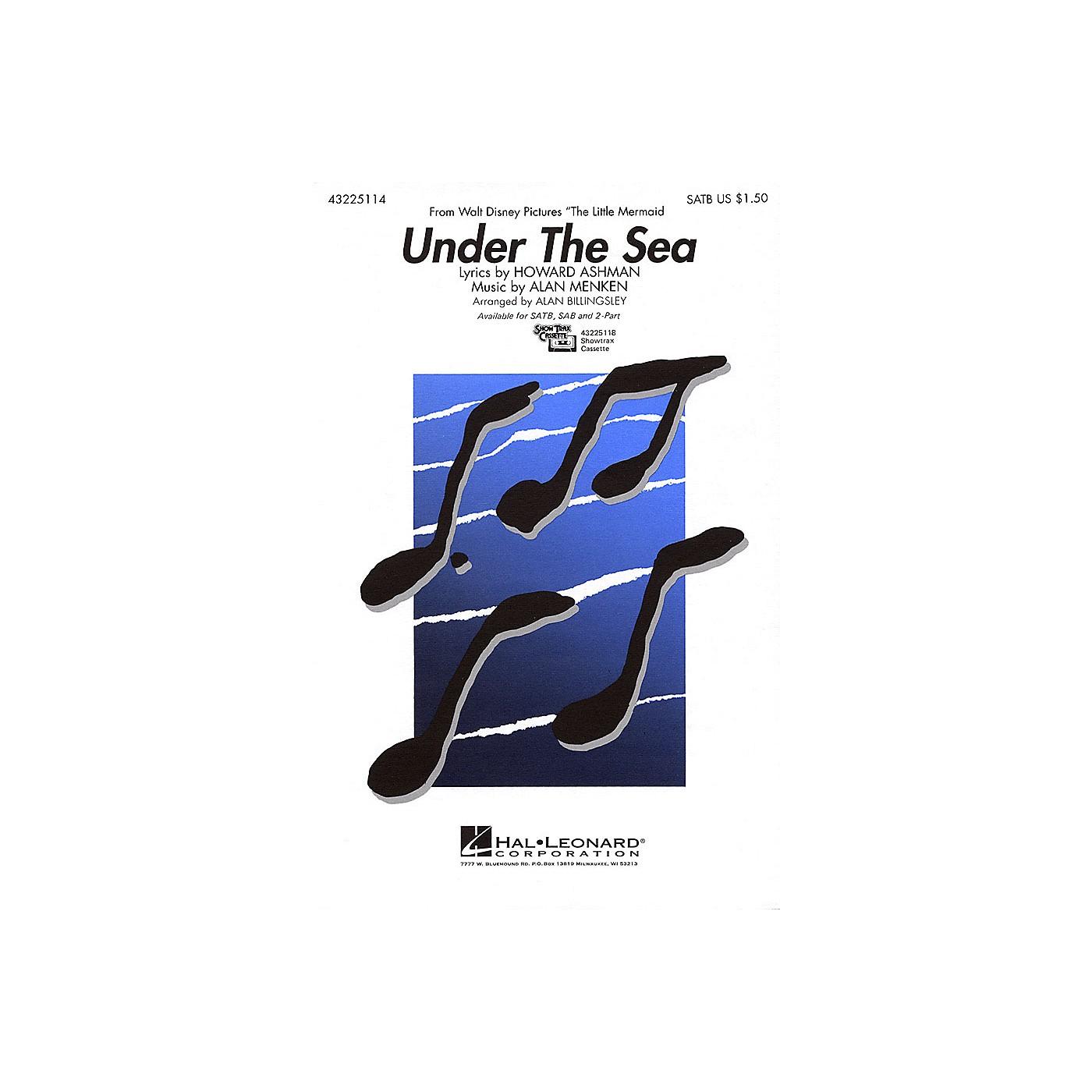 Hal Leonard Under the Sea SAB Arranged by Alan Billingsley thumbnail