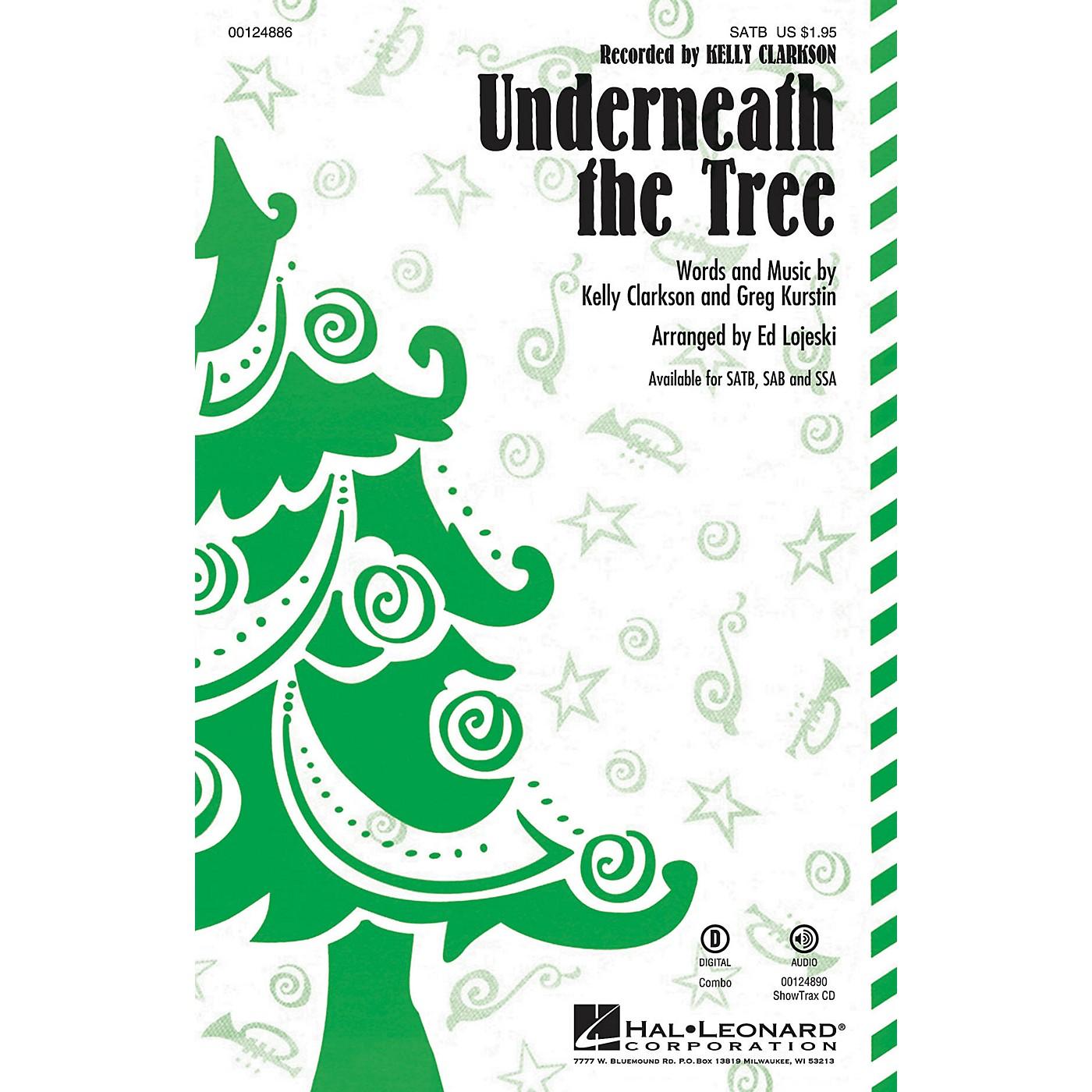 Hal Leonard Underneath the Tree SSA by Kelly Clarkson Arranged by Ed Lojeski thumbnail