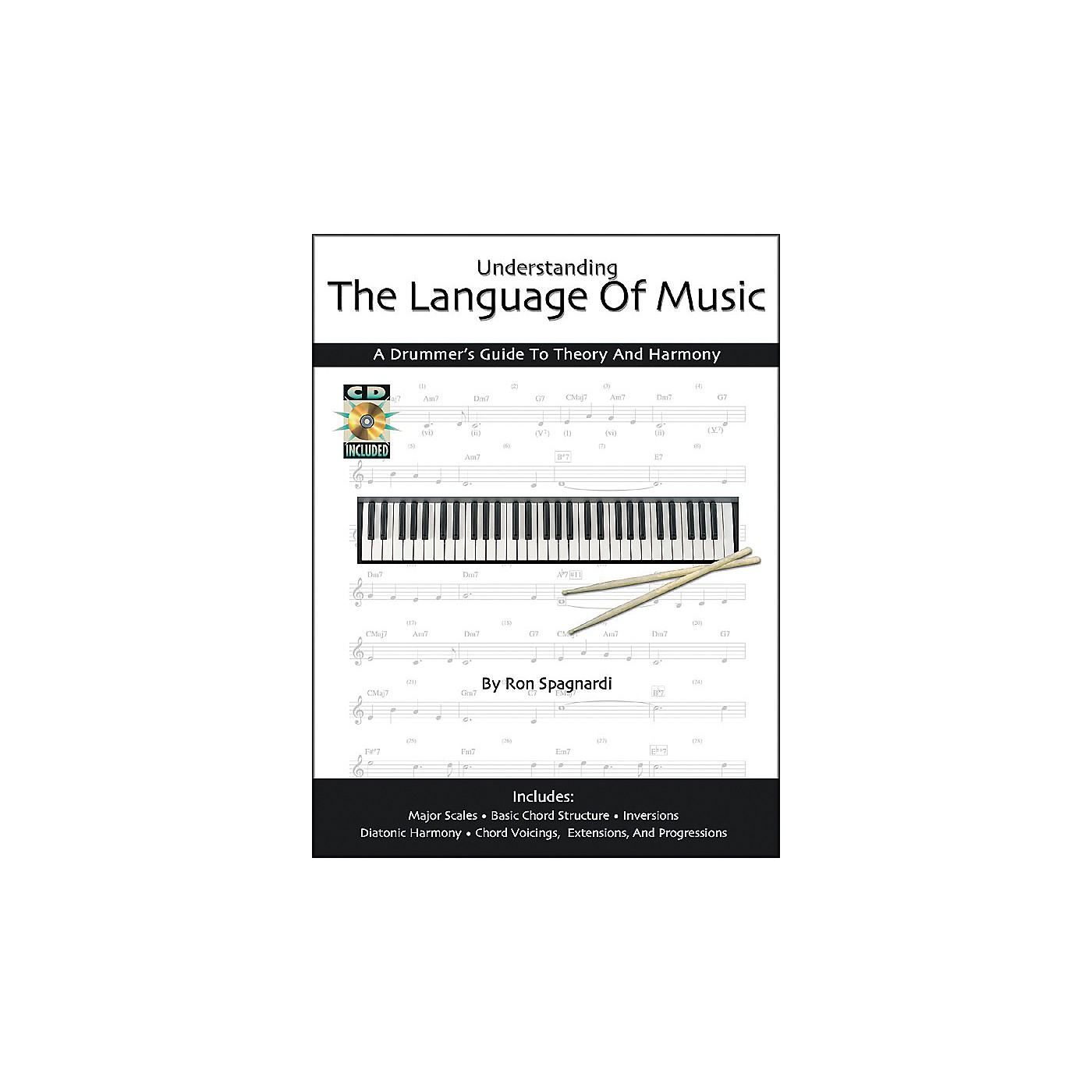 Modern Drummer Understanding the Language of Music: A Drummers Guide Book with CD thumbnail