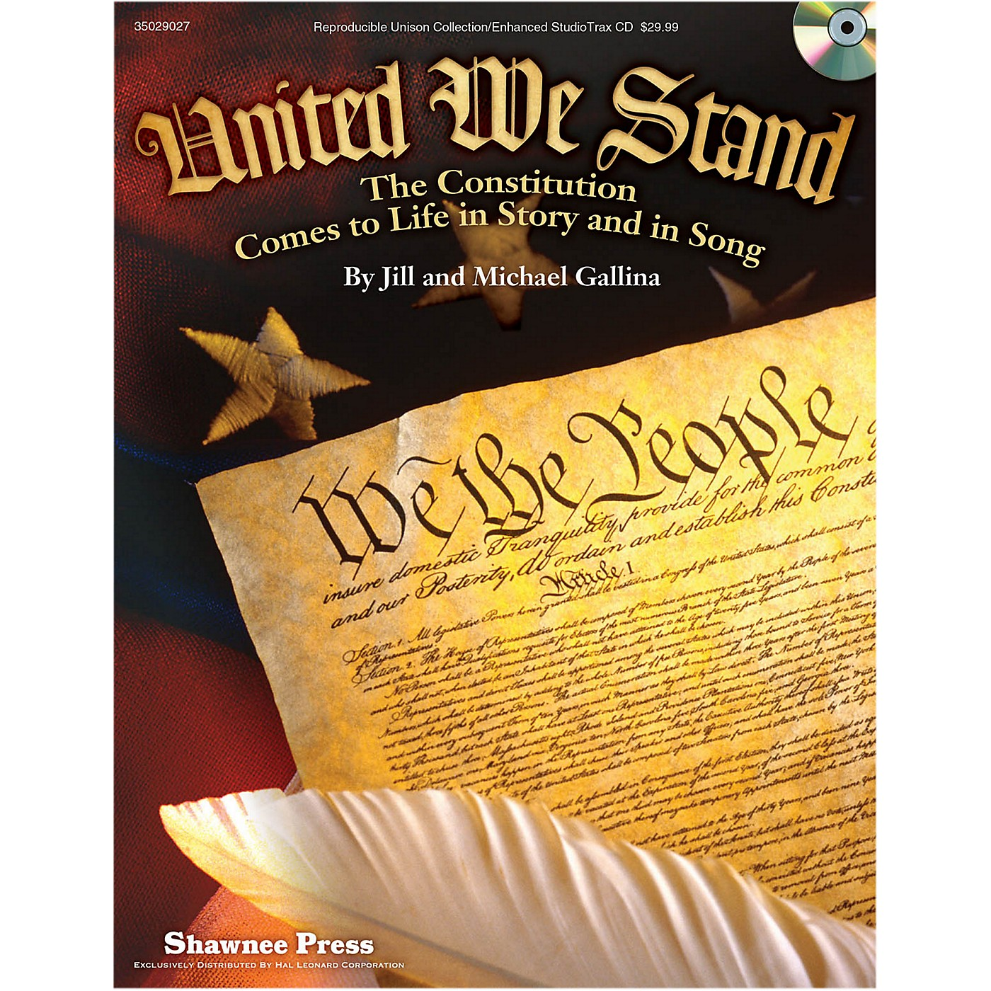 Hal Leonard United We Stand - The Constitution Comes To Life in Story and in Song Performance Kit thumbnail