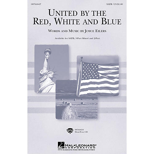 Hal Leonard United by the Red, White and Blue ShowTrax CD Composed by Joyce Eilers thumbnail