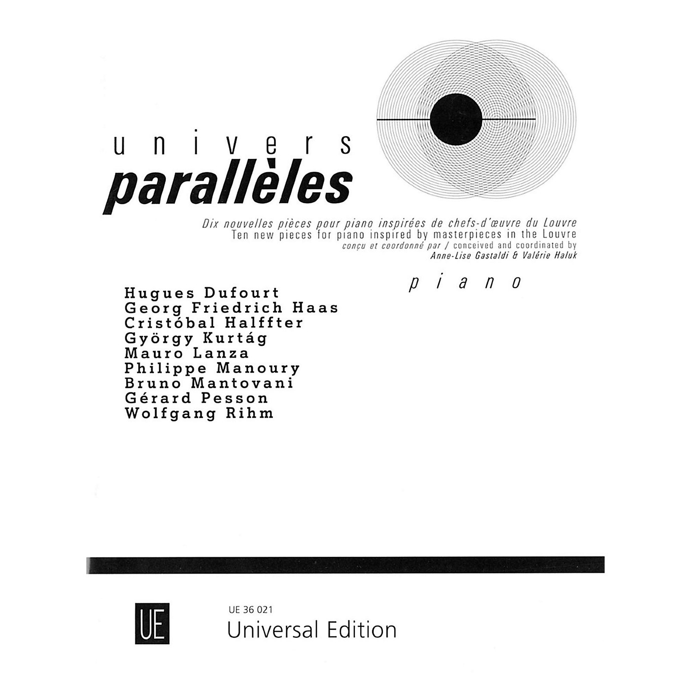 Carl Fischer Univers Paralleles Book - Piano thumbnail