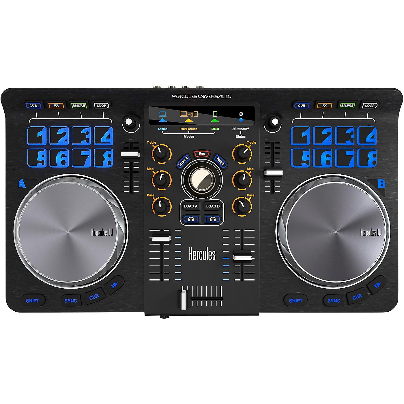Hercules DJ Universal DJ Compact Controller with Bluetooth thumbnail