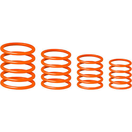 Gravity Stands Universal Gravity Ring Pack - Electric Orange thumbnail