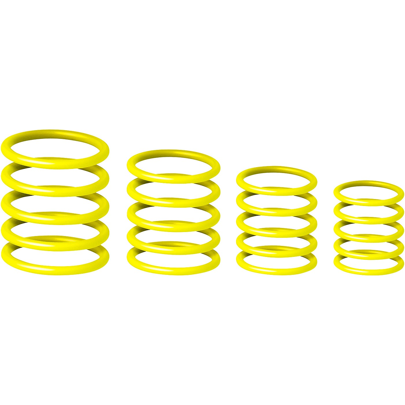 Gravity Stands Universal Gravity Ring Pack - Sunshine Yellow thumbnail