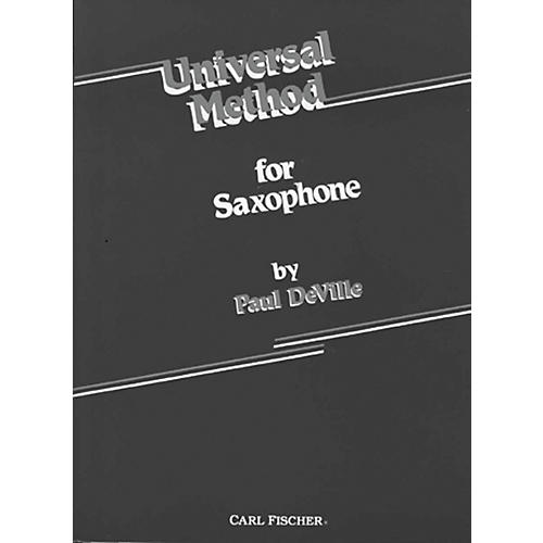 Carl Fischer Universal Method For Saxophone thumbnail