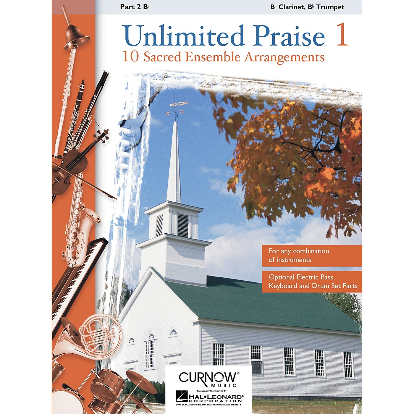 Curnow Music Unlimited Praise (Part 2 - Bb Instruments) Concert Band Level 2-4 thumbnail
