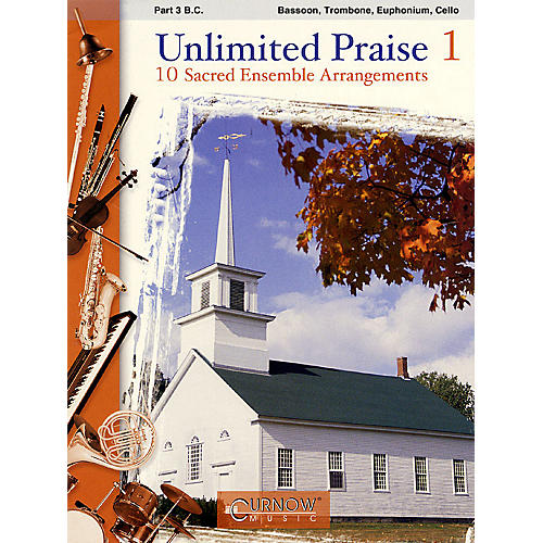 Curnow Music Unlimited Praise (Part 3 in C - Bass Clef) Concert Band Level 2-4 thumbnail