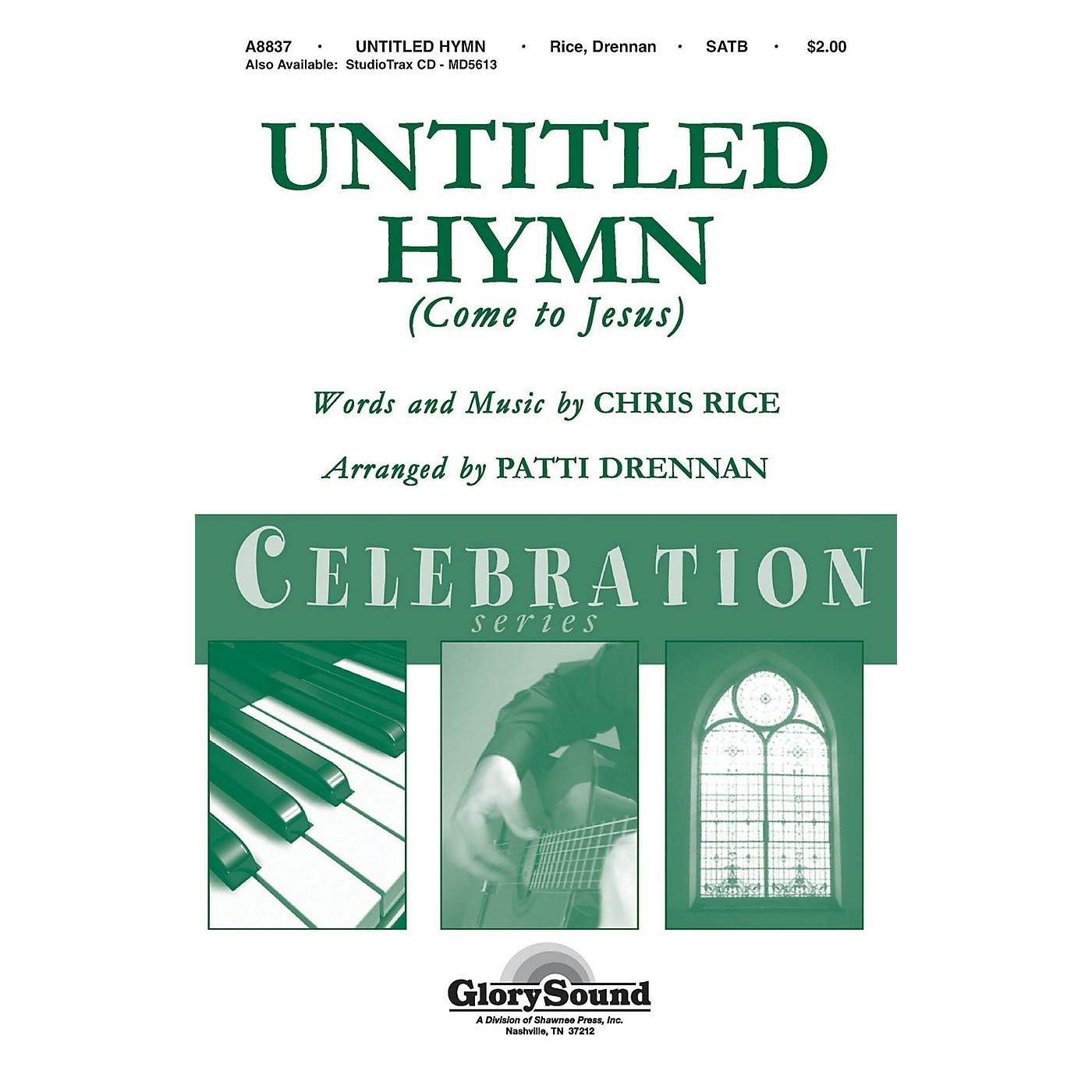 Shawnee Press Untitled Hymn (Shawnee Press Celebration Series) Studiotrax CD by Chris Rice Arranged by Patti Drennan thumbnail