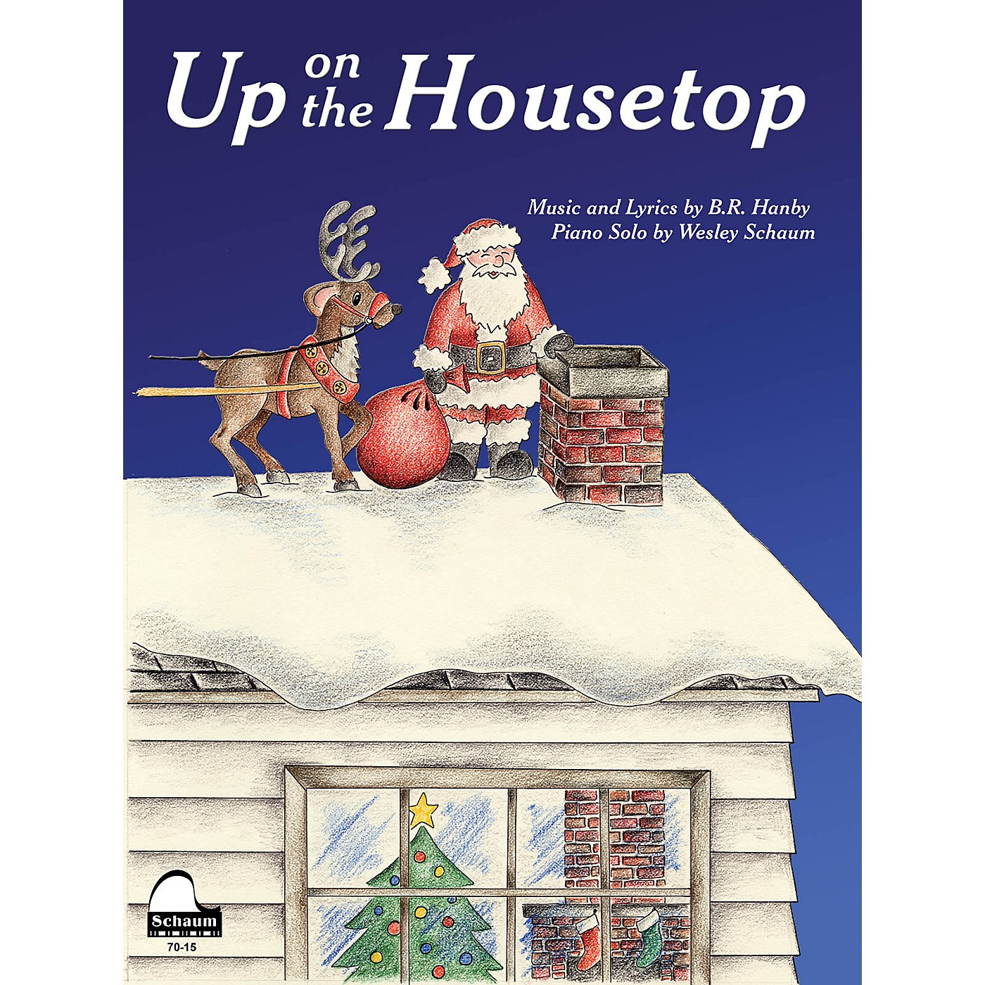 SCHAUM Up on the Housetop Educational Piano Series Softcover thumbnail
