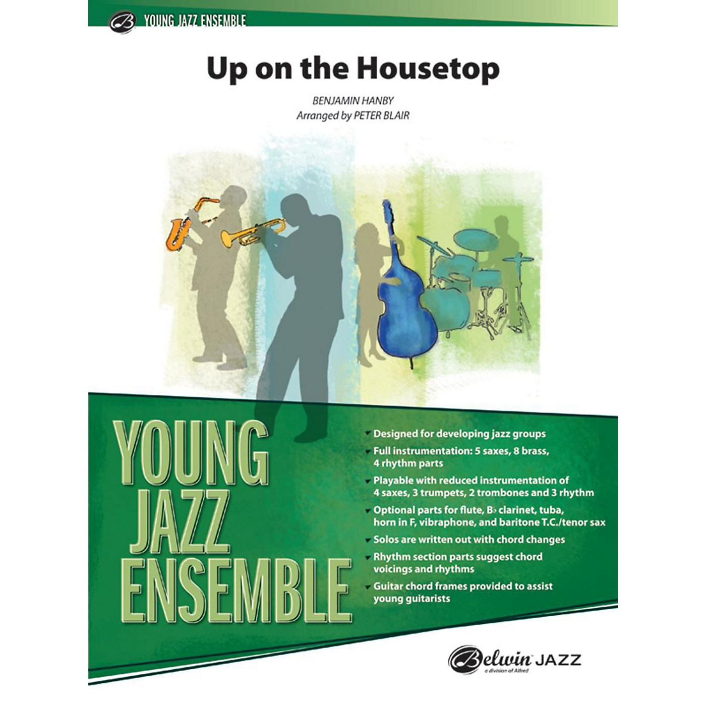 Alfred Up on the Housetop Jazz Band Grade 2 thumbnail