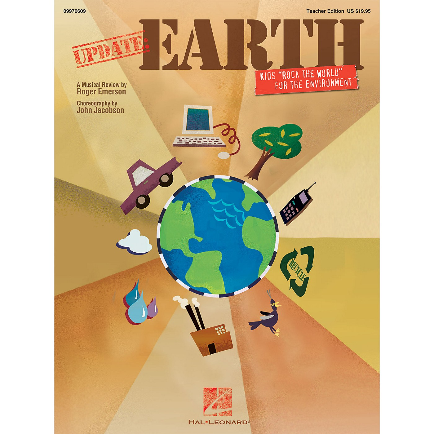 Hal Leonard Update: Earth (Kids 'Rock the World' for a Better Environment) TEACHER ED Composed by Roger Emerson thumbnail