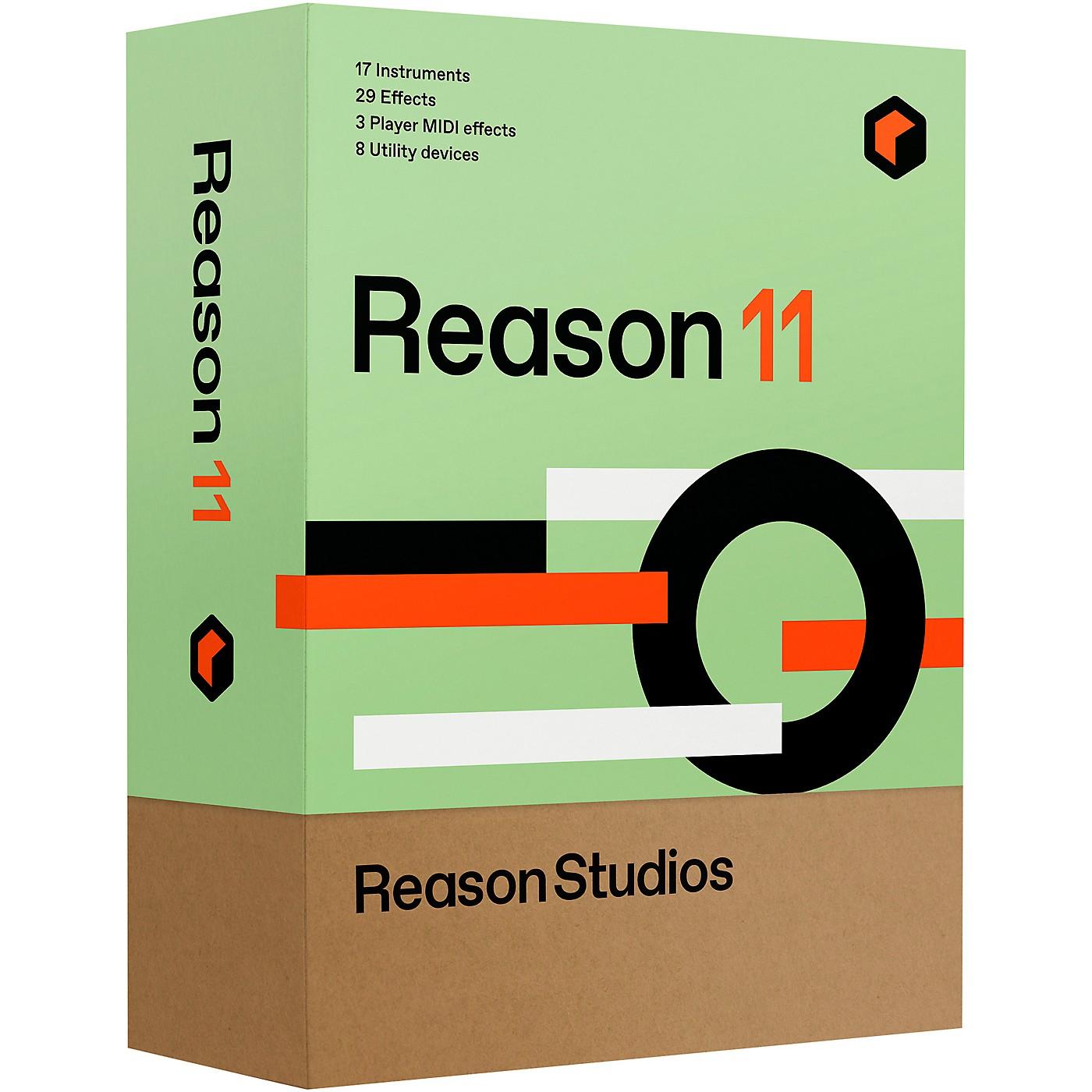 Reason Studios Upgrade to Reason 11 EDU 10-User Network Multi-License (Boxed) thumbnail