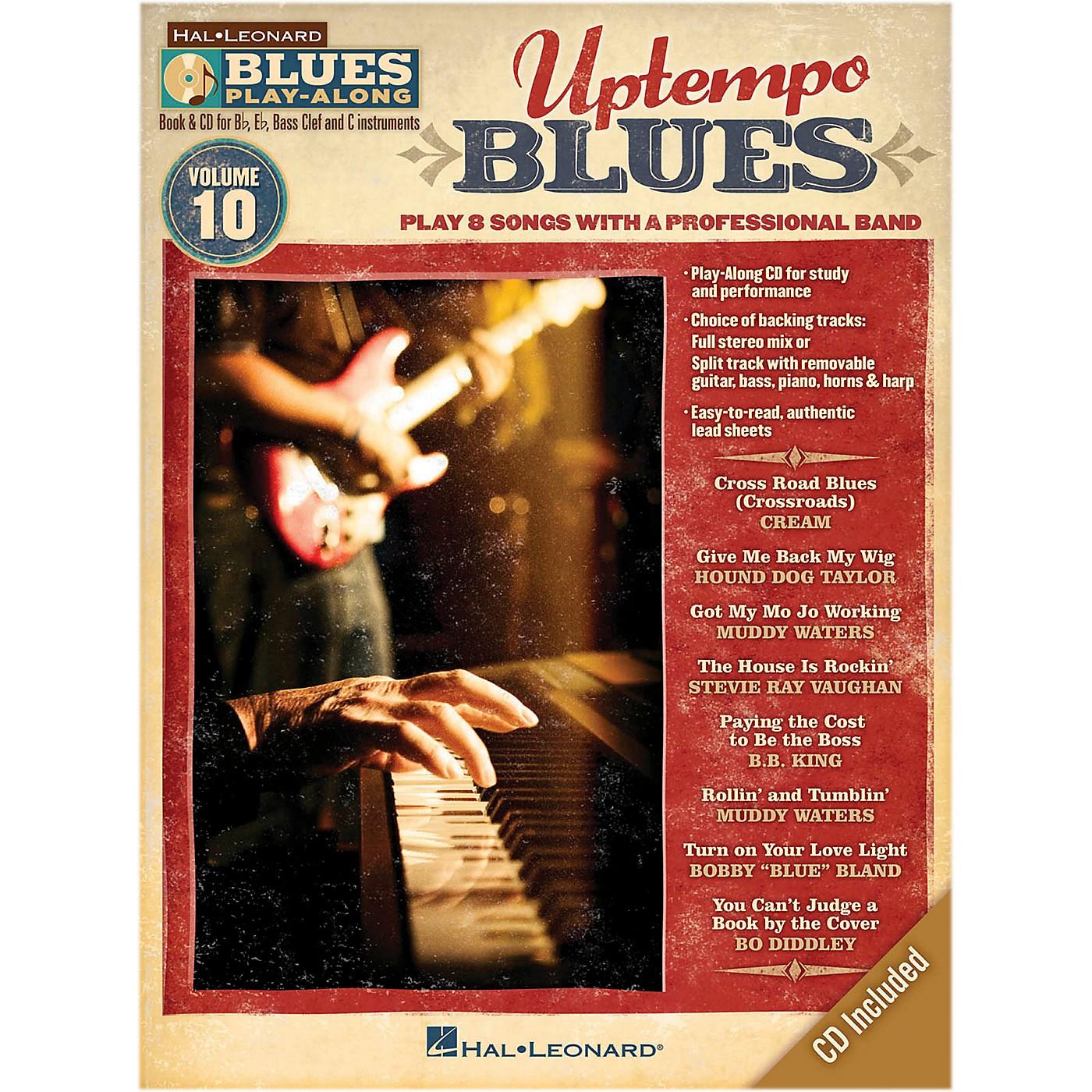 Hal Leonard Uptempo Blues - Blues Play Along Series Volume 10 Book/CD thumbnail