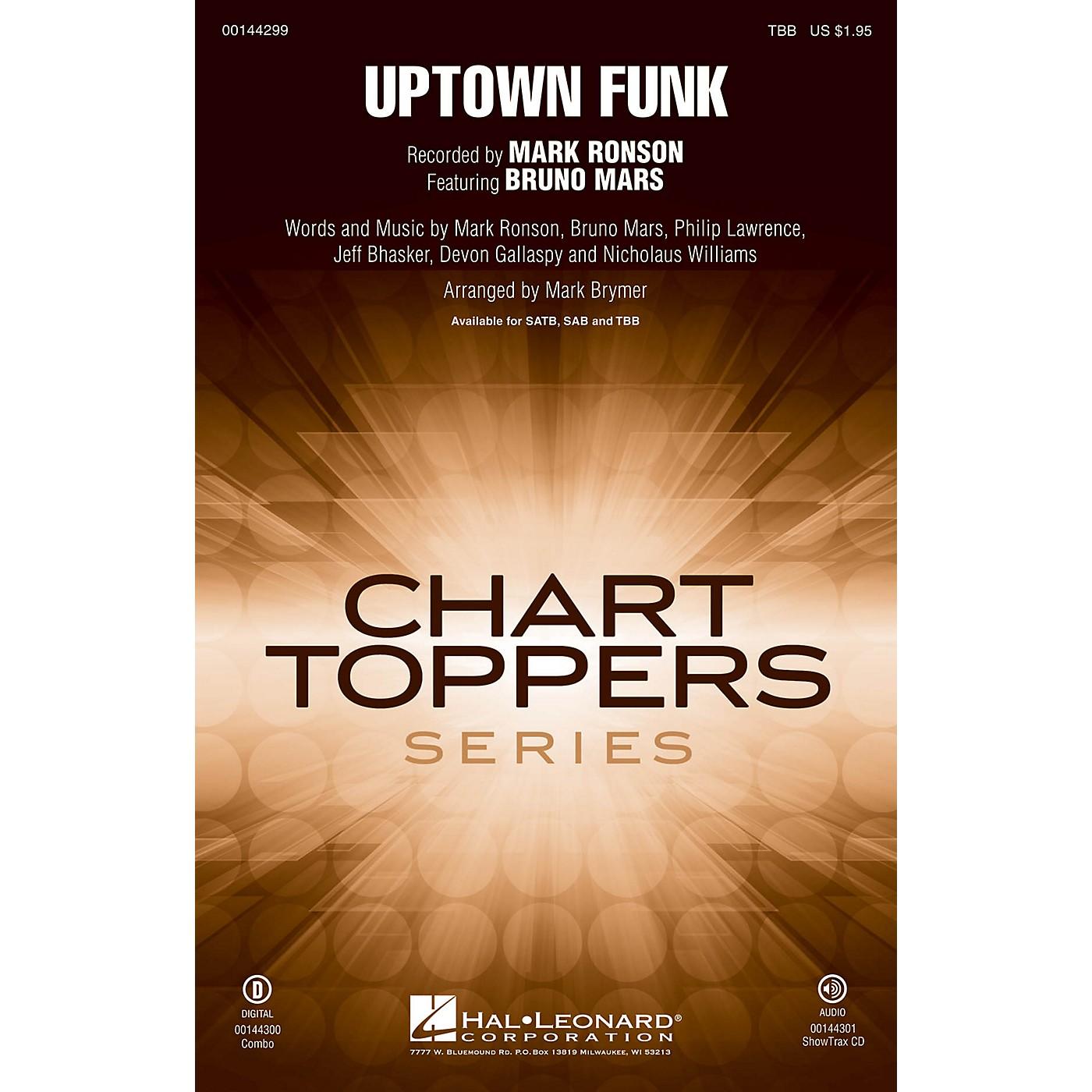 Hal Leonard Uptown Funk! TBB by Mark Ronson arranged by Mark Brymer thumbnail