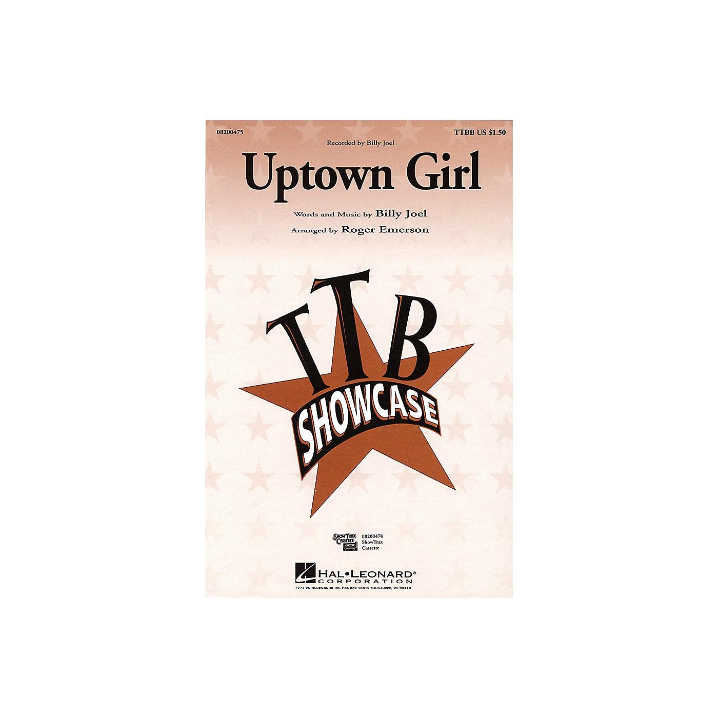Hal Leonard Uptown Girl TTBB by Billy Joel arranged by Roger Emerson thumbnail