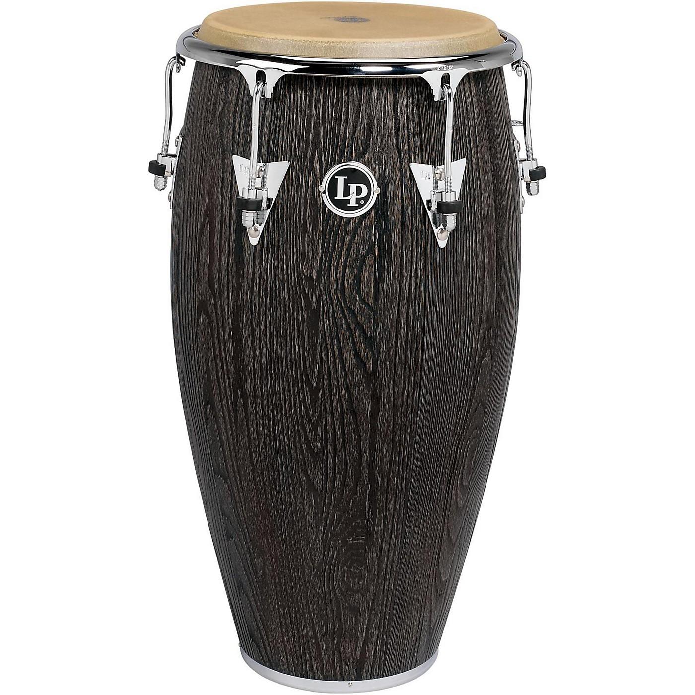 LP Uptown Series Sculpted Ash Conga Drum Chrome Hardware thumbnail