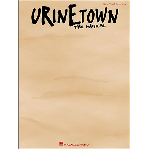 Hal Leonard Urinetown - The Musical arranged for piano, vocal, and guitar (P/V/G) thumbnail