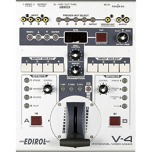 Roland V-4 4-Channel Video Mixer thumbnail