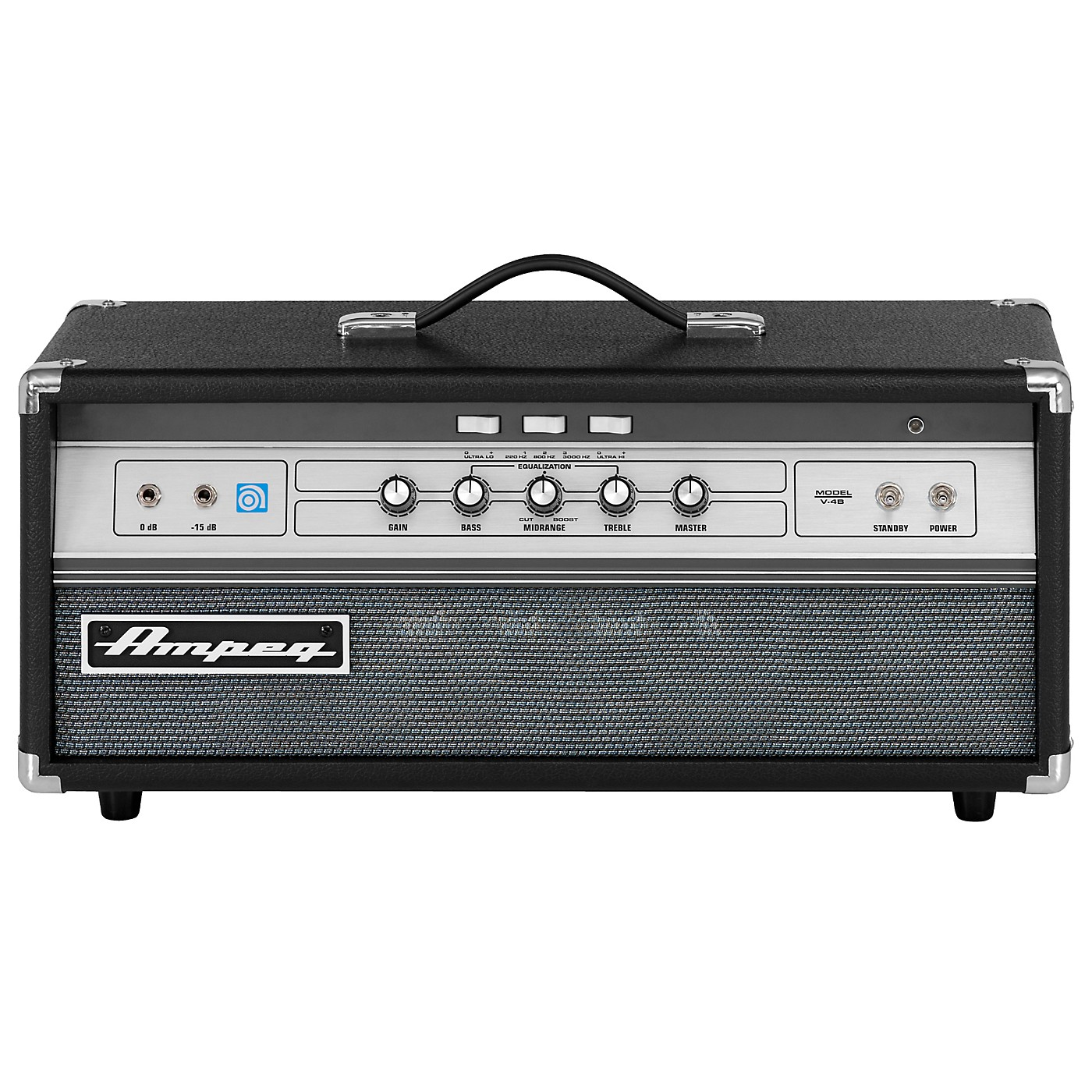 Ampeg V-4B All-Tube 100W  Classic Bass Amp Head thumbnail