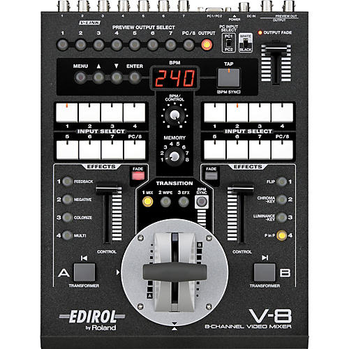 Roland V-8 8-Channel Video Mixer with Effects thumbnail