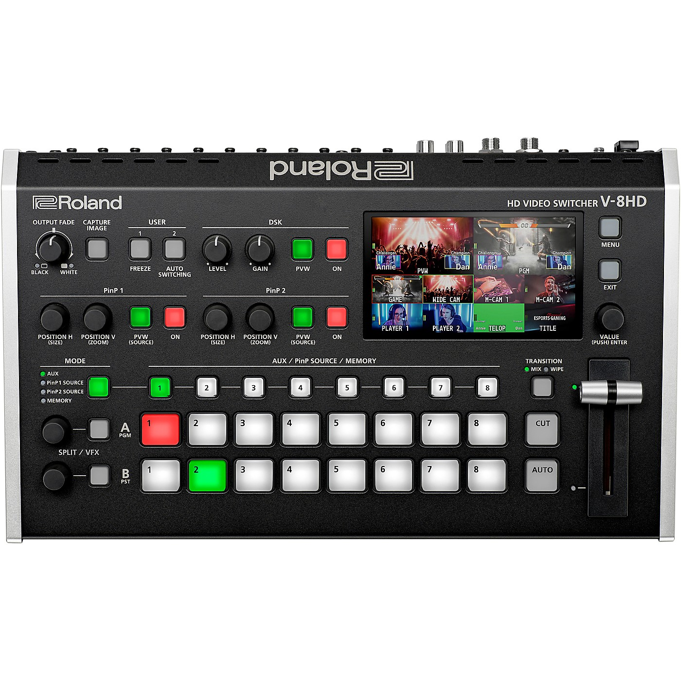 Roland V-8HD 8-Channel HD Video Switcher thumbnail
