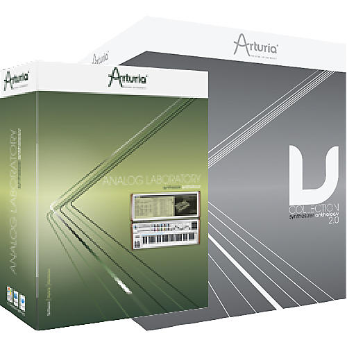 Arturia V-Collection 2 & Analog Laboratory bundle-thumbnail