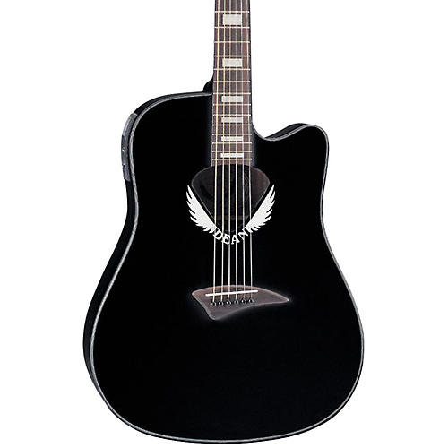Dean V Wing Cutaway Dreadnought Acoustic-Electric Guitar thumbnail