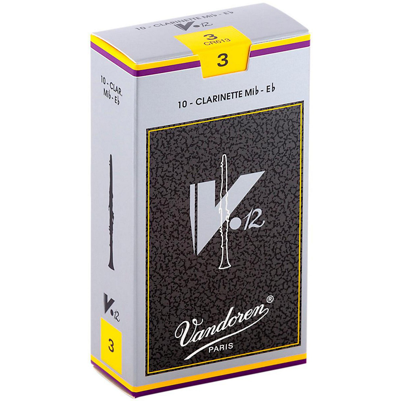 Vandoren V12 Series Eb Clarinet Reeds thumbnail
