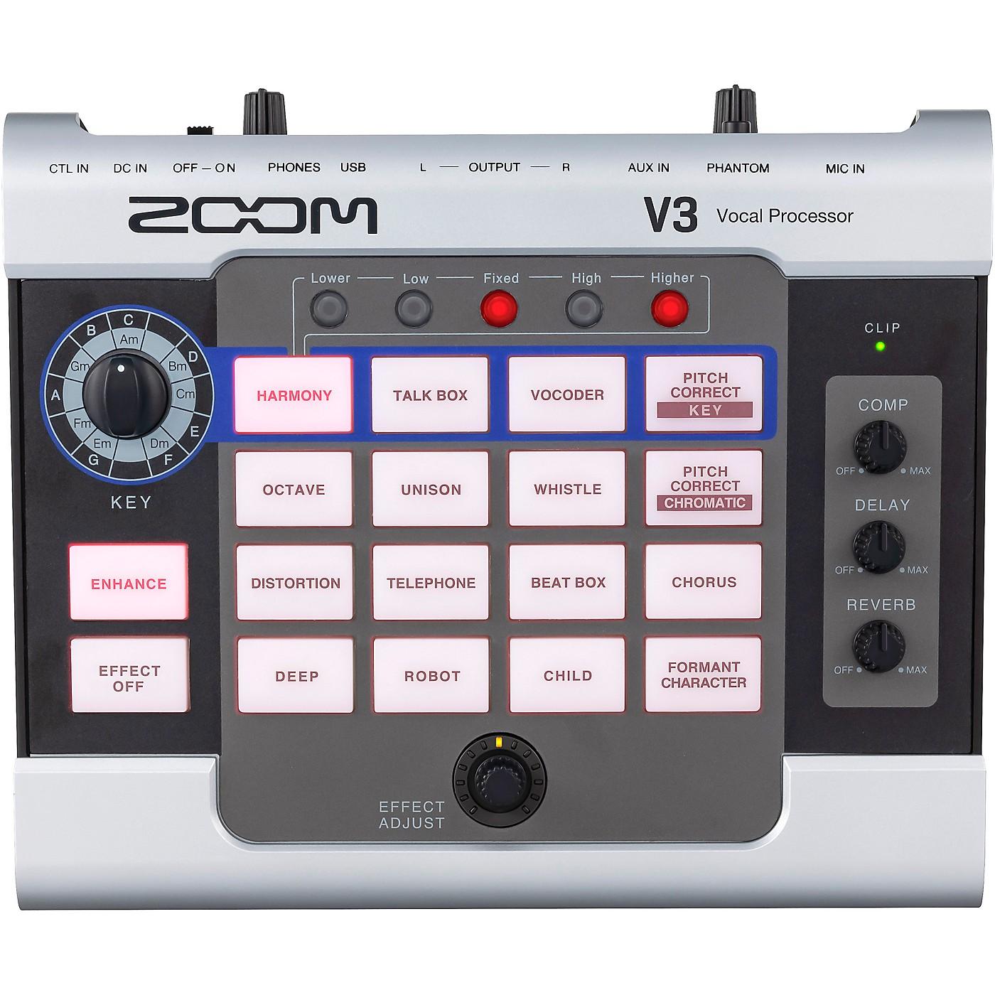 Zoom V3 Vocal Processor thumbnail