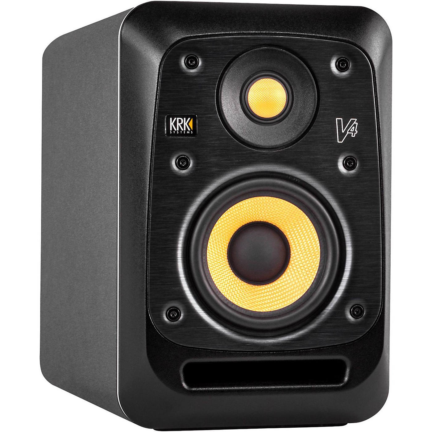KRK V4 4in Active Studio Monitor with Kevlar Drivers thumbnail