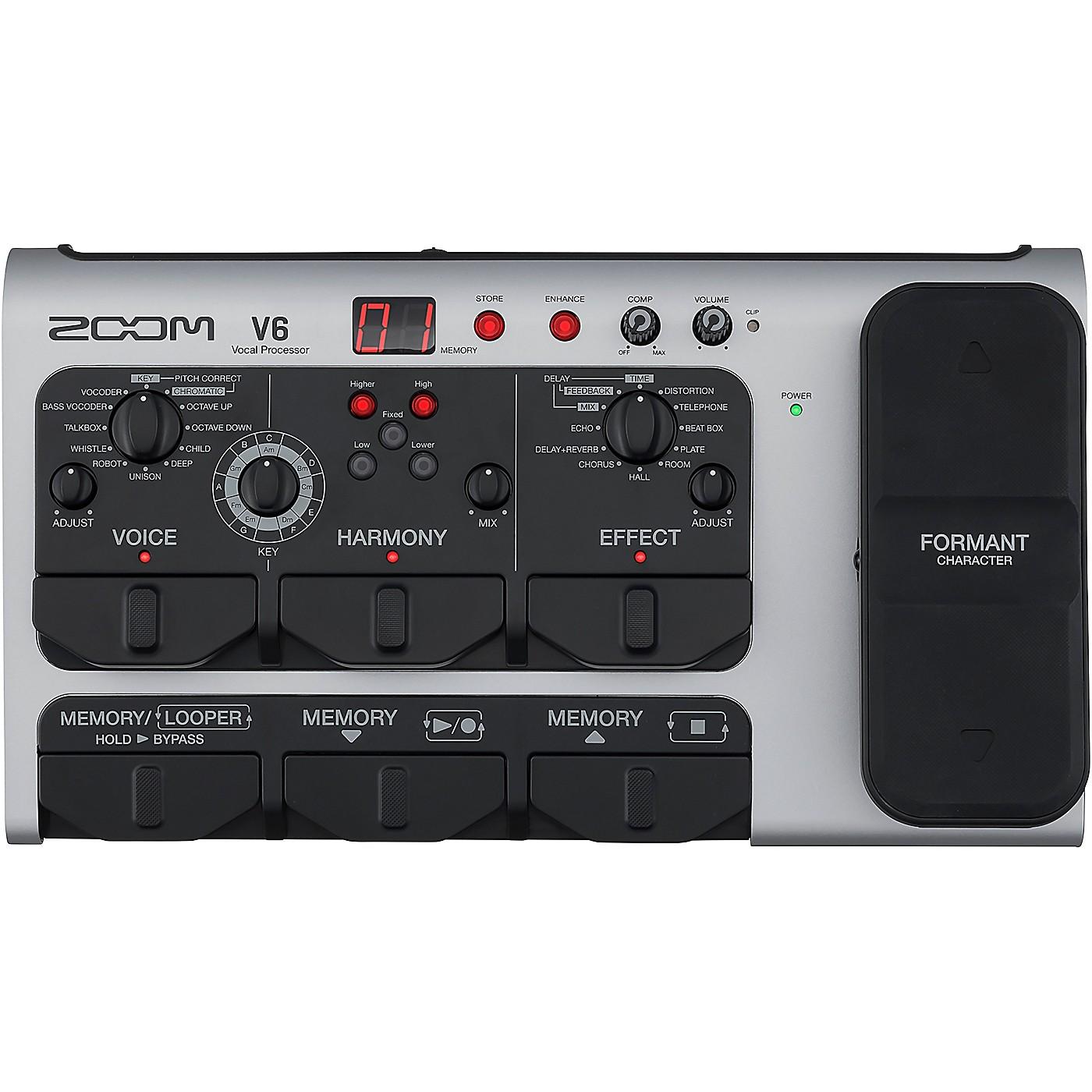 Zoom V6 Vocal Processor thumbnail