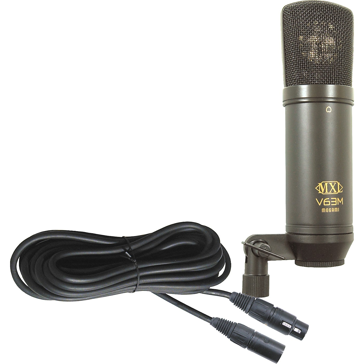 MXL V63M Condender Studio Mic with Mogami Mic Cable thumbnail