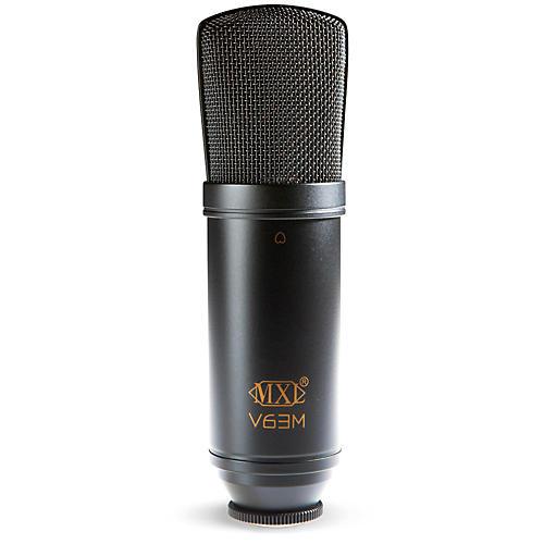 MXL V63M Condenser Studio Microphone with Shockmount thumbnail