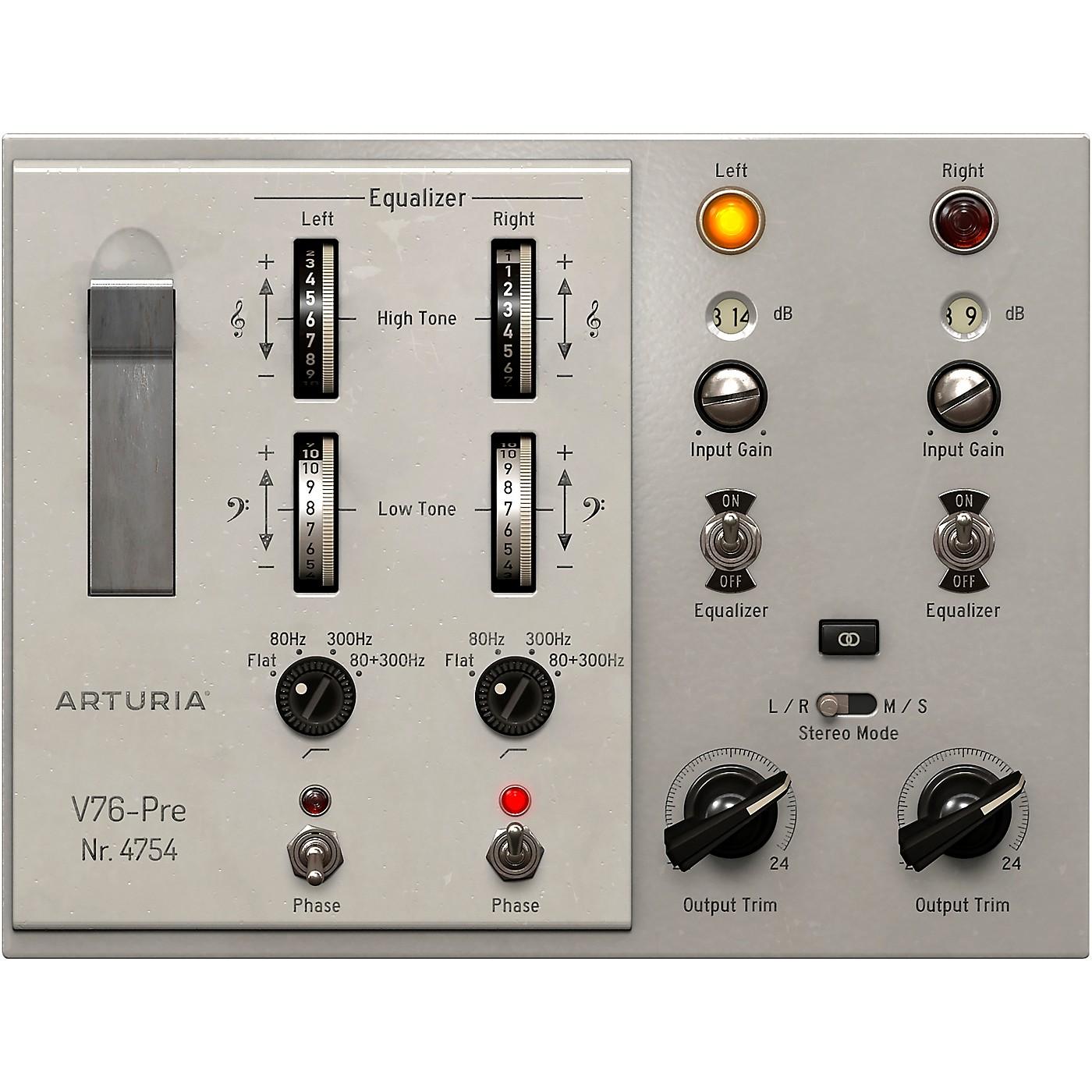 Arturia V76-Pre (Software Download) thumbnail