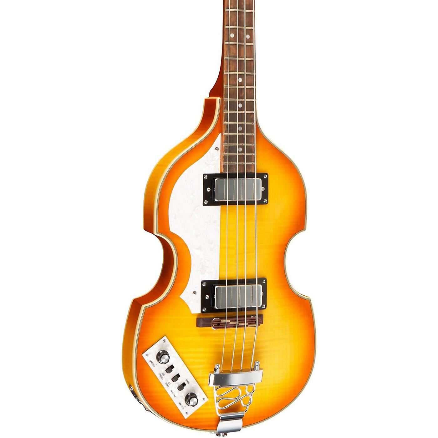 Rogue VB100LH Left-Handed Violin Bass Guitar thumbnail