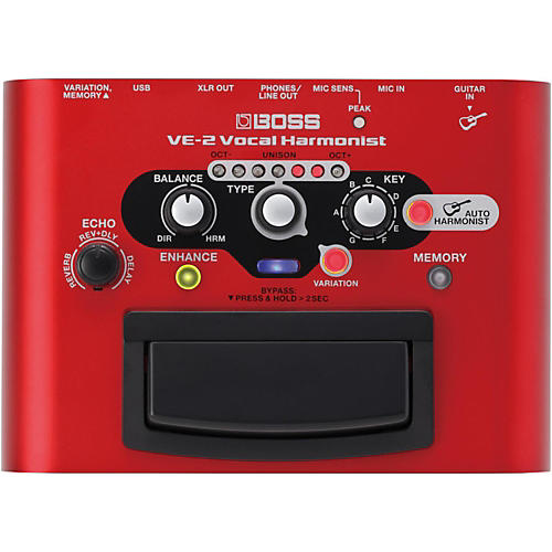Boss VE-2 Vocal Harmonist Multi-Effects Pedal thumbnail